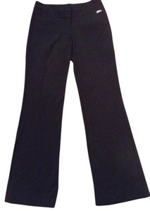 Express Trouser Pants Navy blue pin stripped