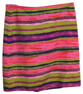 Ann Taylor Skirt Colorful