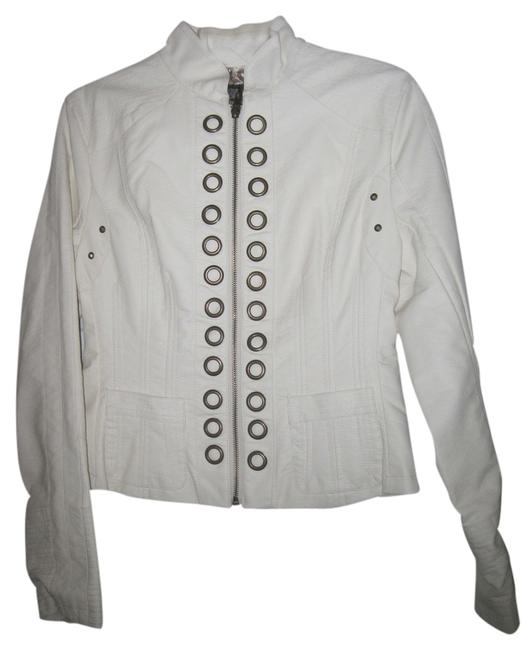 Preload https://item2.tradesy.com/images/cream-faux-rocker-leather-jacket-size-6-s-1705561-0-0.jpg?width=400&height=650