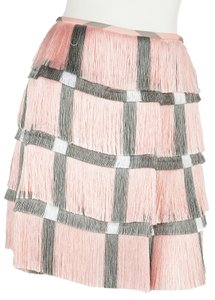 Marco de Vincenzo Mini Skirt Pink & Gray