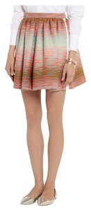 MSGM Boucle Cotton Mini Mini Skirt Multi