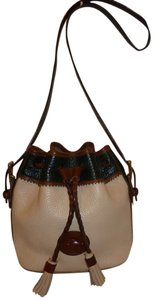 Dooney & Bourke Refurbished Leather Bucket Hobo Bag