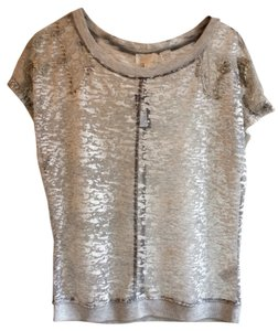 Miss Me Top Silver