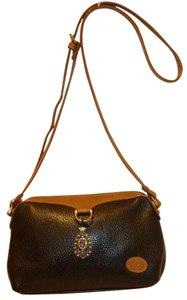 Liz Claiborne Refurbished Leather Lined Cross Body Bag