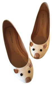 Marc Jacobs Ballerina Mouse White patent Flats