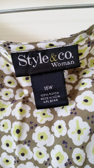 Style & Co Top print