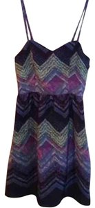 American Eagle Outfitters short dress Blue, green, purple on Tradesy