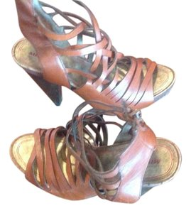Miss Sixty Cognac Sandals