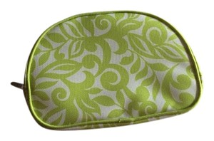 Clinique Clinique Green and White Cosmetic Bag