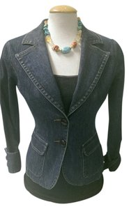 Halogen DENIM Womens Jean Jacket
