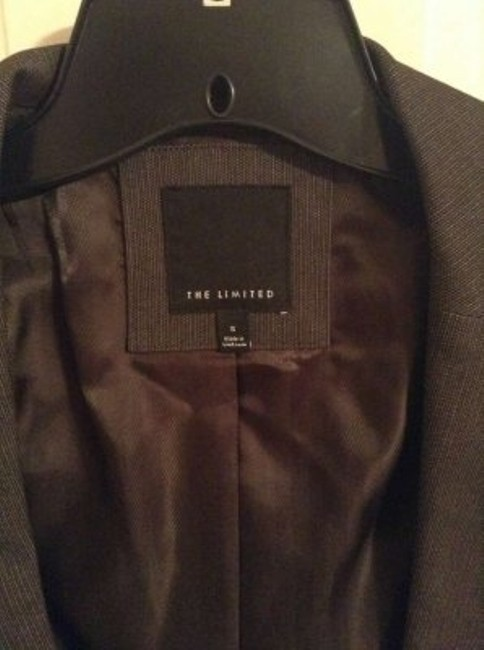 The Limited Brown Skirt Suit