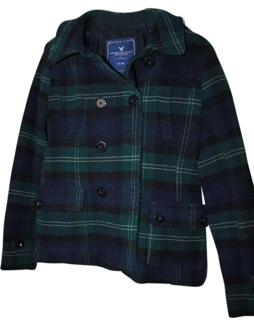 Preload https://img-static.tradesy.com/item/170583/american-eagle-outfitters-blue-green-plaid-winter-pea-coat-size-8-m-0-0-650-650.jpg