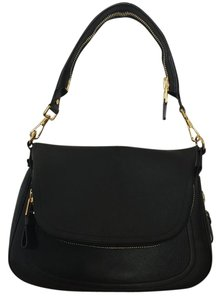 Tom Ford Leather Zipper Cross Body Bag' Shoulder Bag