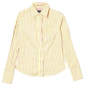 American Eagle Outfitters Button Down Shirt Yellow