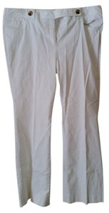 Isaac Mizrahi Boot Cut Pants white