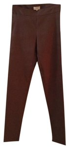 Avenue Montaigne Skinny Pants Dark Taupe