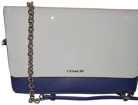 Preload https://item5.tradesy.com/images/coach-valet-heart-key-ring-and-stunning-patent-leather-shoulder-bag-1705894-0-2.jpg?width=440&height=440
