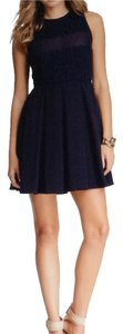 Sugarlips short dress Navy Blue on Tradesy