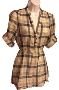 Odille Top Plaid