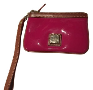 Dooney & Bourke Wristlet in Magenta