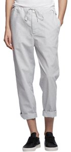 James Perse Capri/Cropped Pants white/deep