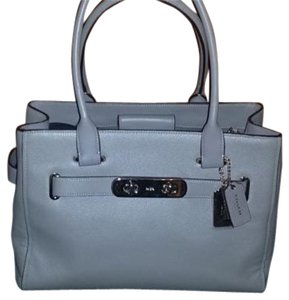 Coach 36488 Swagger Tote Satchel in Gray
