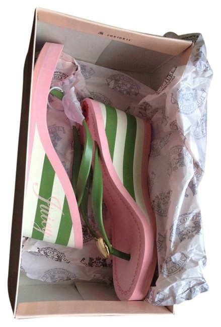 Item - Pink/Green Laney Wedge Pink/Green Sandals Size US 6 Regular (M, B)