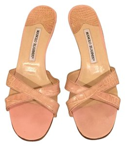 Manolo Blahnik Light Pink/Blush Pumps