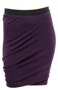 Alexander Wang Mini Skirt Purple