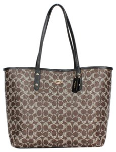 Coach Travel Oversized Large Tote in Brown