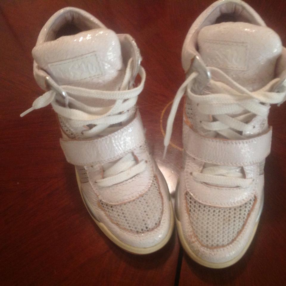 MISS MISS MISS Ash White S13funkybiswhitewhite Sneakers Average costs 9b1eb0