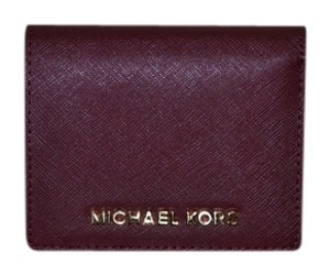 Michael Kors MK Jet Set Travel leather wallet