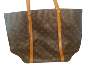 Louis Vuitton Monogram Vintage Tote in Brown