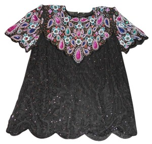 Jakelin Designs Top Multi-color