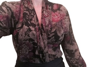 Max Mara Top multi-floral