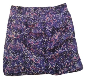 Free People Mini Skirt Purple