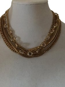 Georgiou Studio Mixed chain and crystal necklace