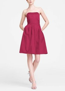 David's Bridal Pink Watermelon 83312 Dress