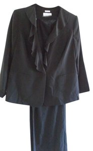 Calvin Klein Calvin Kein Ruffle Front Pant Suit