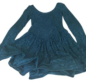 Betsey Johnson short dress Teal on Tradesy