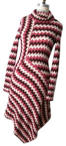 Missoni short dress Multi Color Knit Cowlneck Sweaterknit on Tradesy
