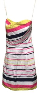 Lilly Pulitzer short dress Pink, navy, yellow, white on Tradesy