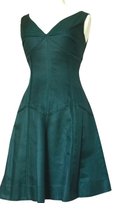 Preload https://item3.tradesy.com/images/pine-green-fit-and-flare-knee-length-short-casual-dress-size-8-m-1706327-0-0.jpg?width=400&height=650