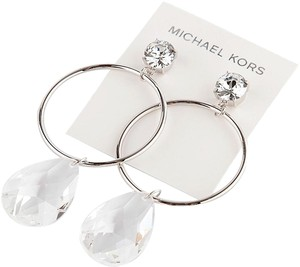 Michael Kors NEW Michael Kors Runway Dangle Drop Earrings Sparkling Crystal Stone