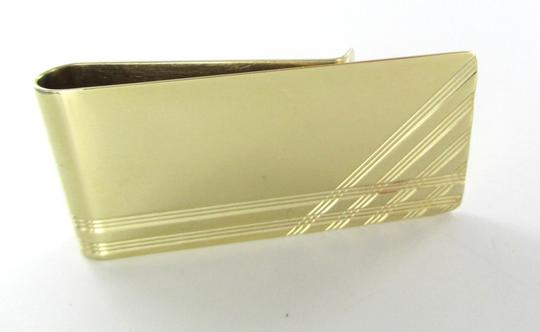 Other 14KT KARAT SOLID YELLOW GOLD MONEY CLIP 20.3 GRAMS STUNNING FINE JEWELRY DESIGN