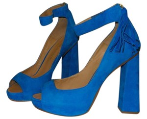 Dsquared2 Suede Leather TURQUOISE (CAMOSCIO AZZURRO) Sandals
