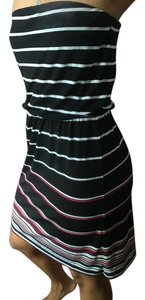 White House | Black Market short dress Black, White, Pink on Tradesy