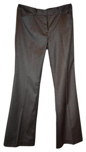 Tahari Work Straight Pants Gray