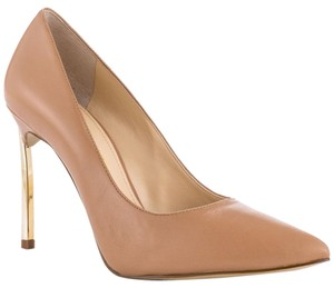 Enzo Angiolini Pointed Toe Nude Pumps