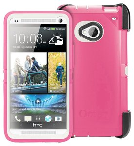 OtterBox OtterBox Defender Case HTC One Blushed Pink Retails $49.99
